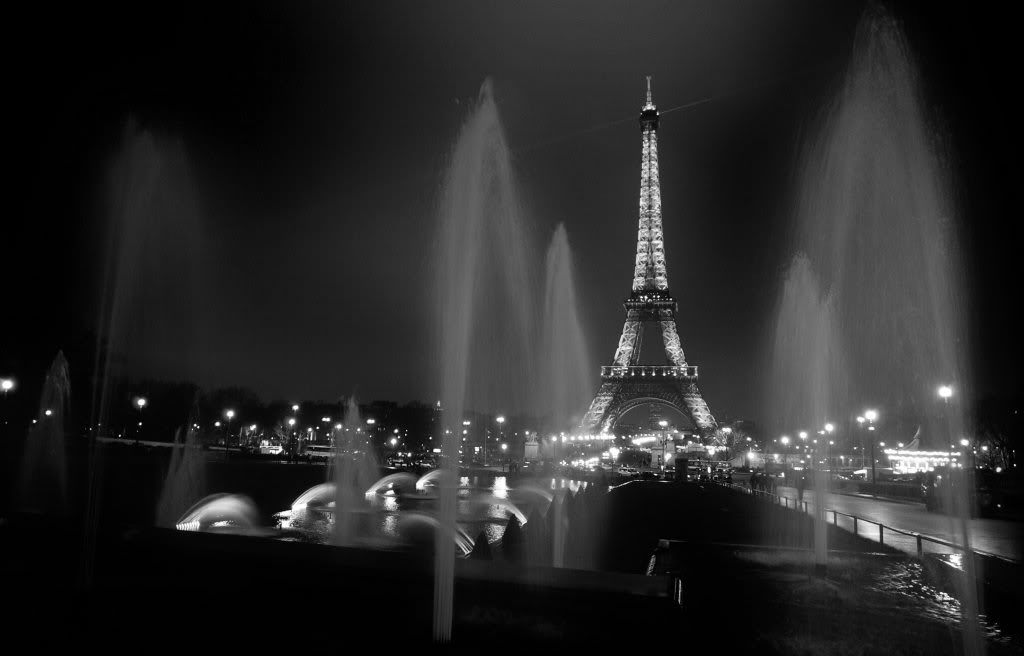 Black And White Paris Eiffel Tower Wallpaper Style Domination