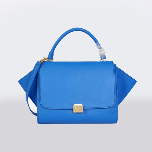 Celine_Trapeze_Bag_Royal_Blue