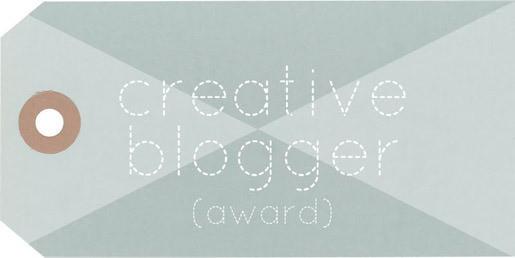 The Creative Blogger Award!