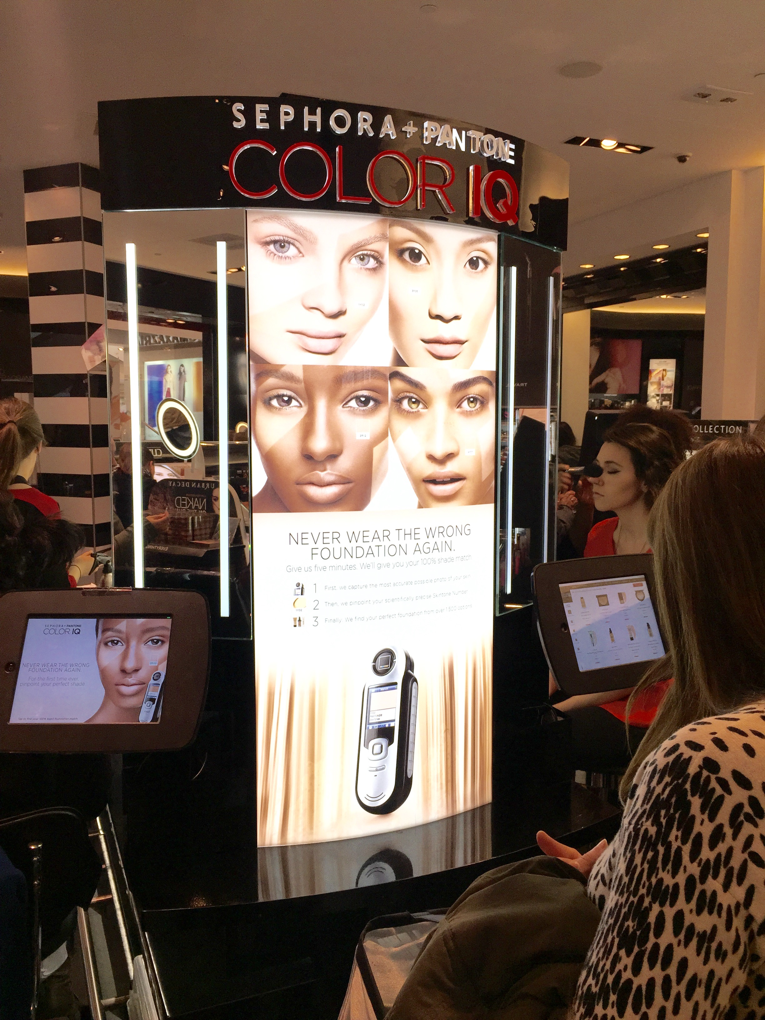 Style Domination Beauty Review: Sephora + Pantone Color IQ
