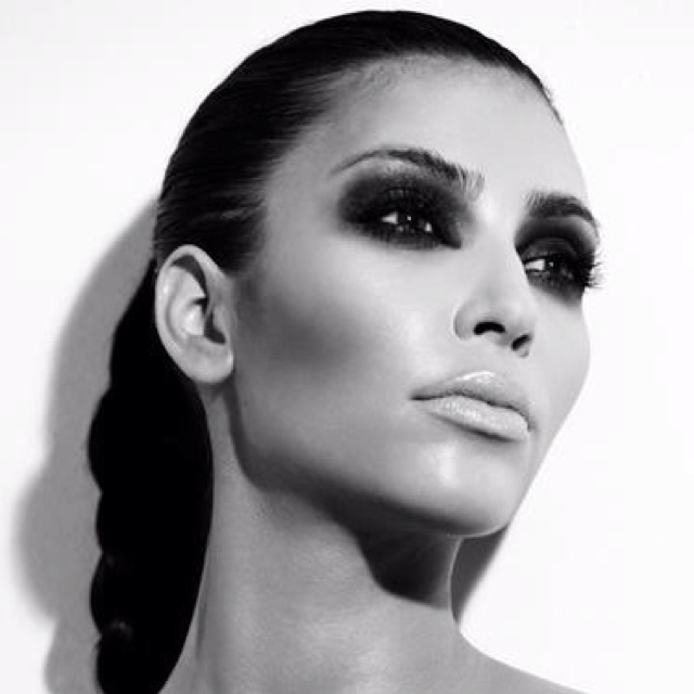 Kim Kardashian Smoky Eye Editorial Urban Decay Naked Smoky Palette Style Domination Fashion and Beauty Blogger