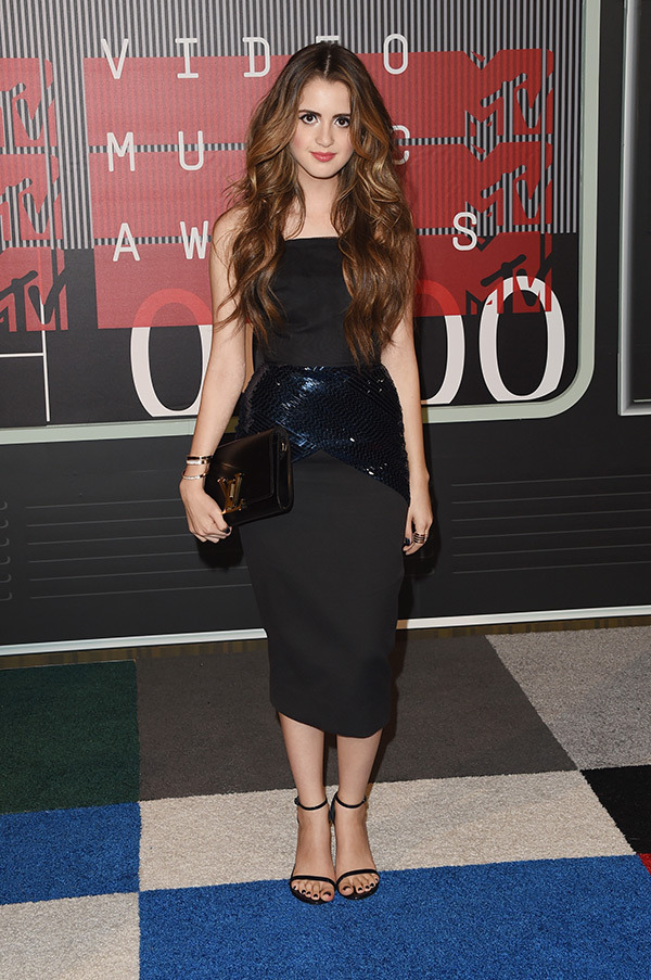 Laura Marano VMAs 2015 Miley Cyrus Nicki Minaj Style Domination Fashion Blogger