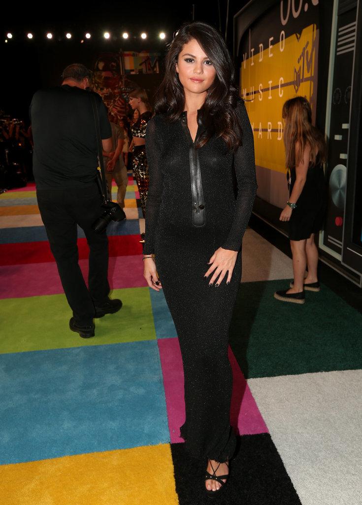 Selena Gomez VMAs 2015 Miley Cyrus Nicki Minaj Style Domination Fashion Blogger