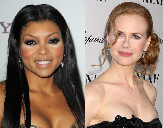 Nicole Kidman Taraji Henson Bad Concealer Style Domination