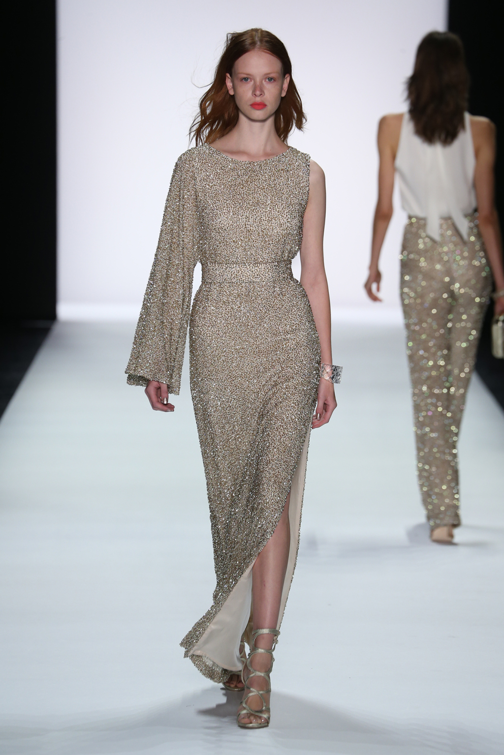 Badgley Mischka RTW Spring 2016 NYFW 2015 Style Domination Fashion Blogger
