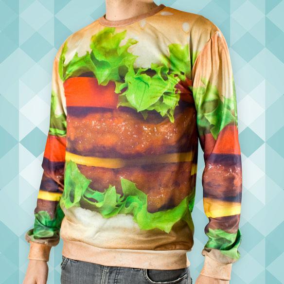 Hamburger sweater STyle Domination Blogger