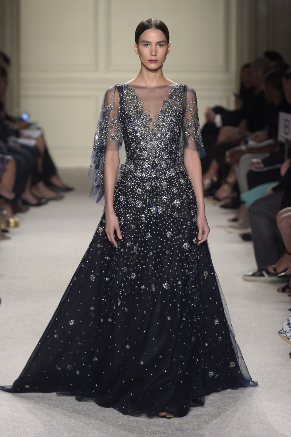Marchesa RTW Spring 2016 NYFW 2015 Style Domination Fashion Blogger