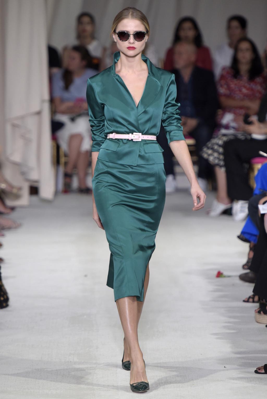 Oscar de la Renta RTW 2016 Spring NYFW 2015 Style Domination Fashion Blogger