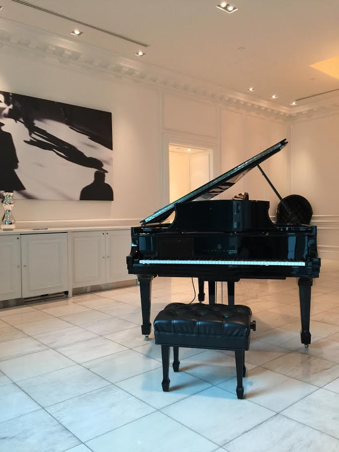 TIFF 2015 Trump Residences Trump Tower Style Domination Steinway Piano