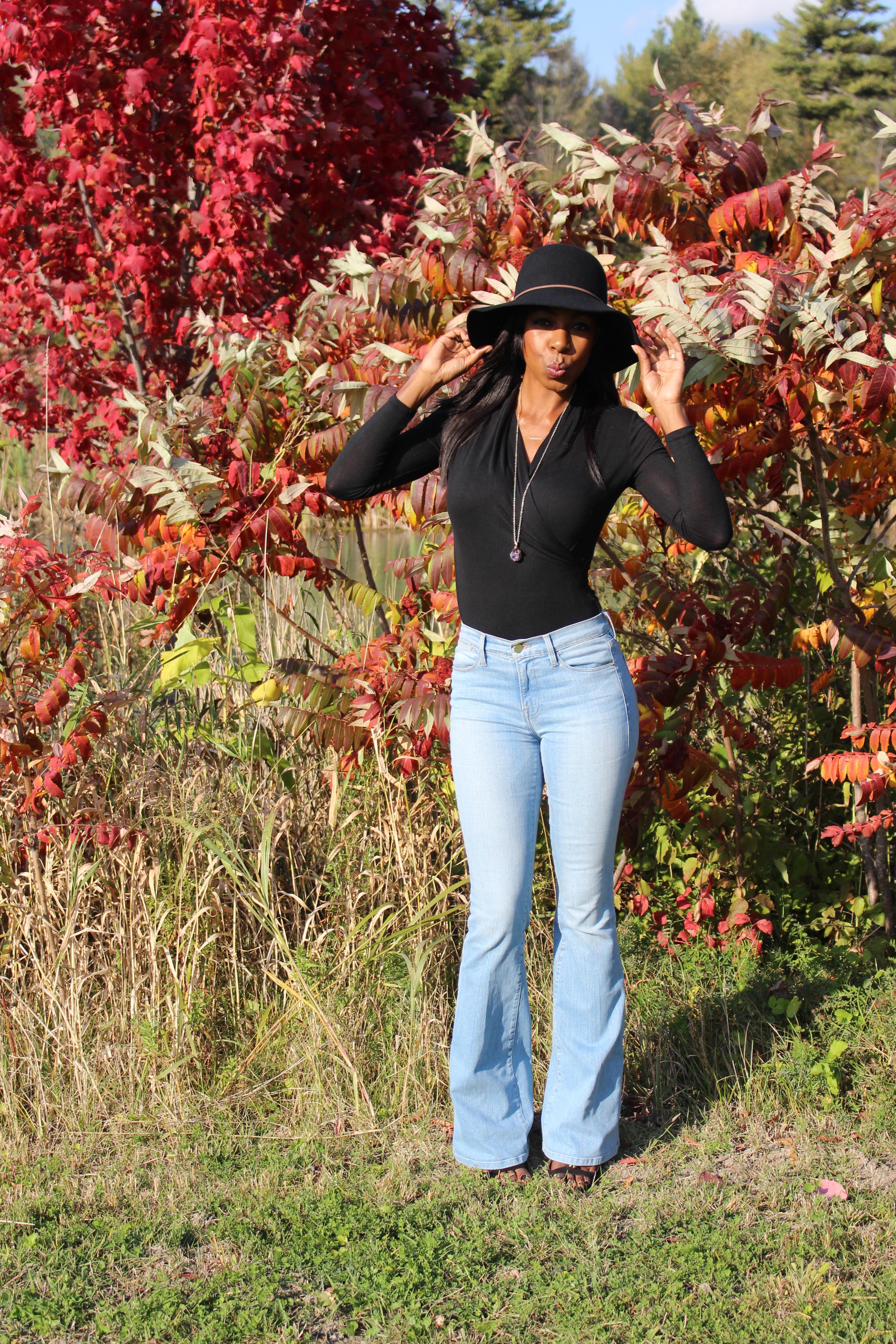 Style Domination Ottawa Blogger Fashion Thanksgiving Frame Denim