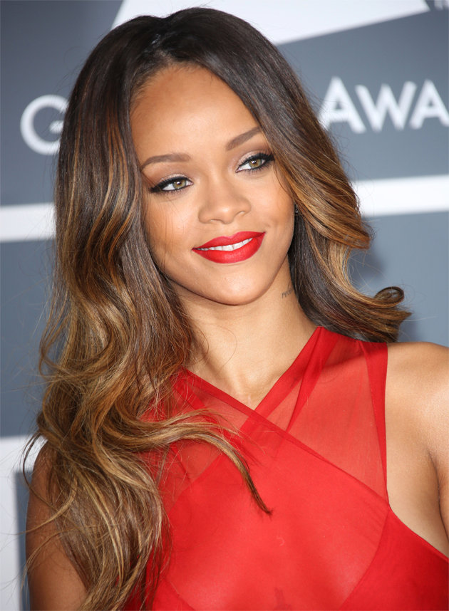 Rihanna Red Lips Ottawa Blogger Style Domination Red Lipstick for Beginners