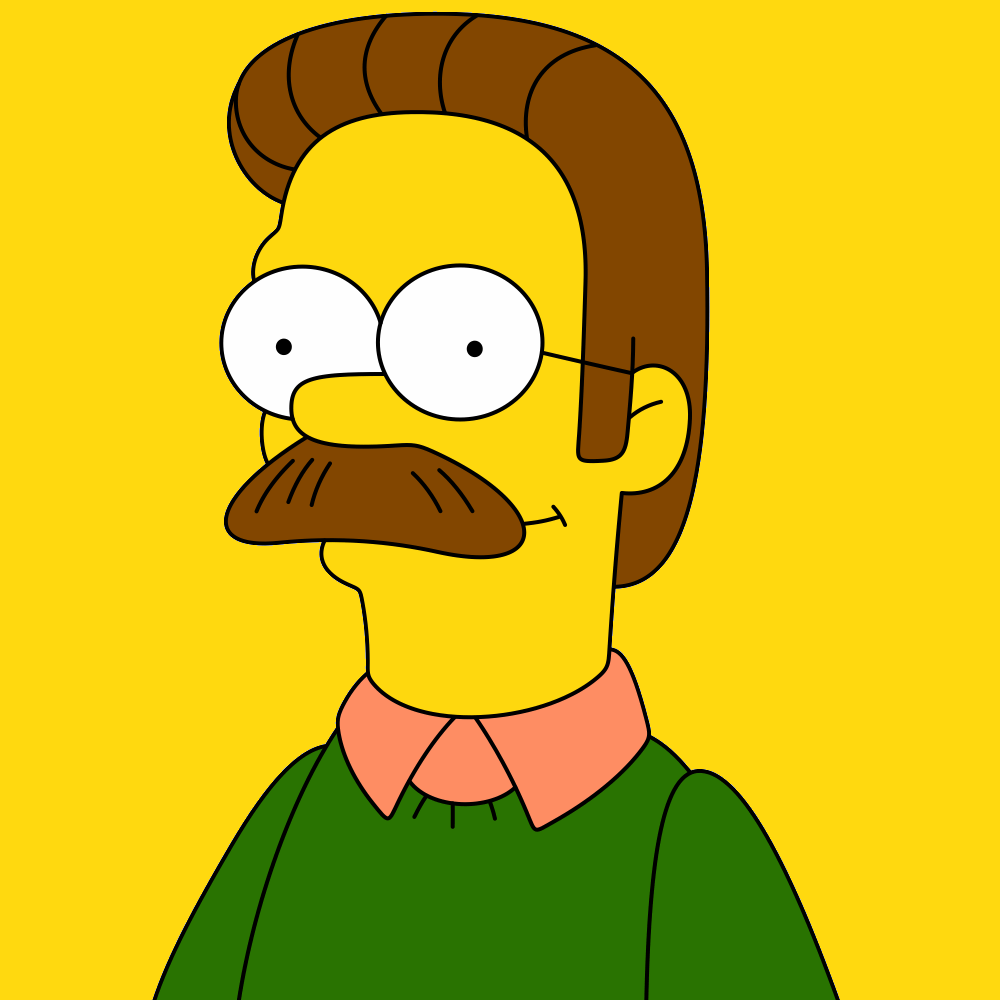 Ned Flanders Moustache Movember Style Domination Ottawa Fashion Blogger