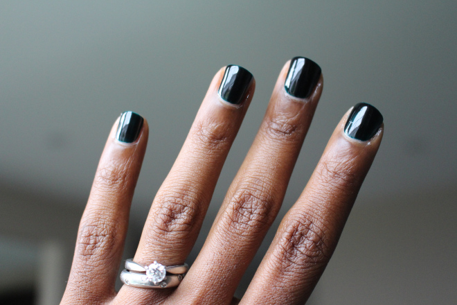 Chanel Vert Obscur Style Domination Fall Nail Trends Ottawa Fashion Blogger