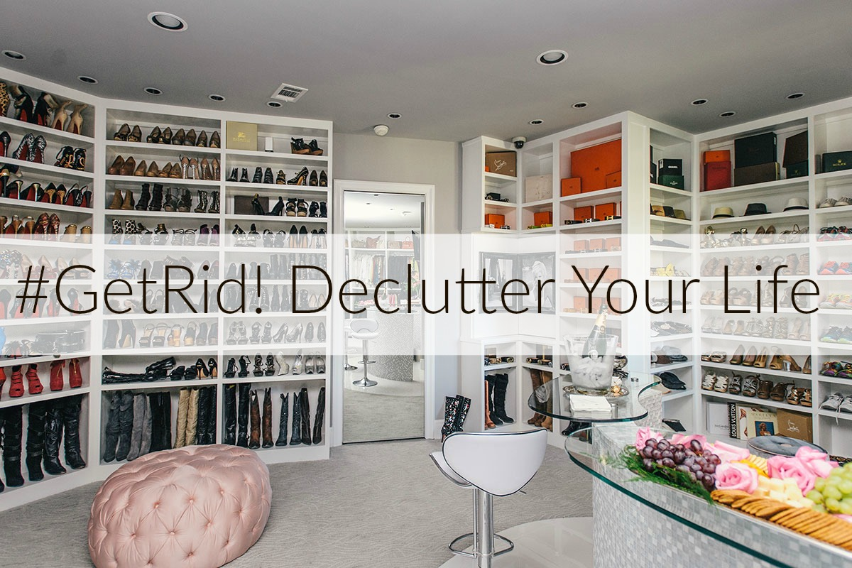 #GetRid! Declutter Your Life with these 100 great tips which will guarantee to leave you feeling more organized and in control   www.styledomination.com