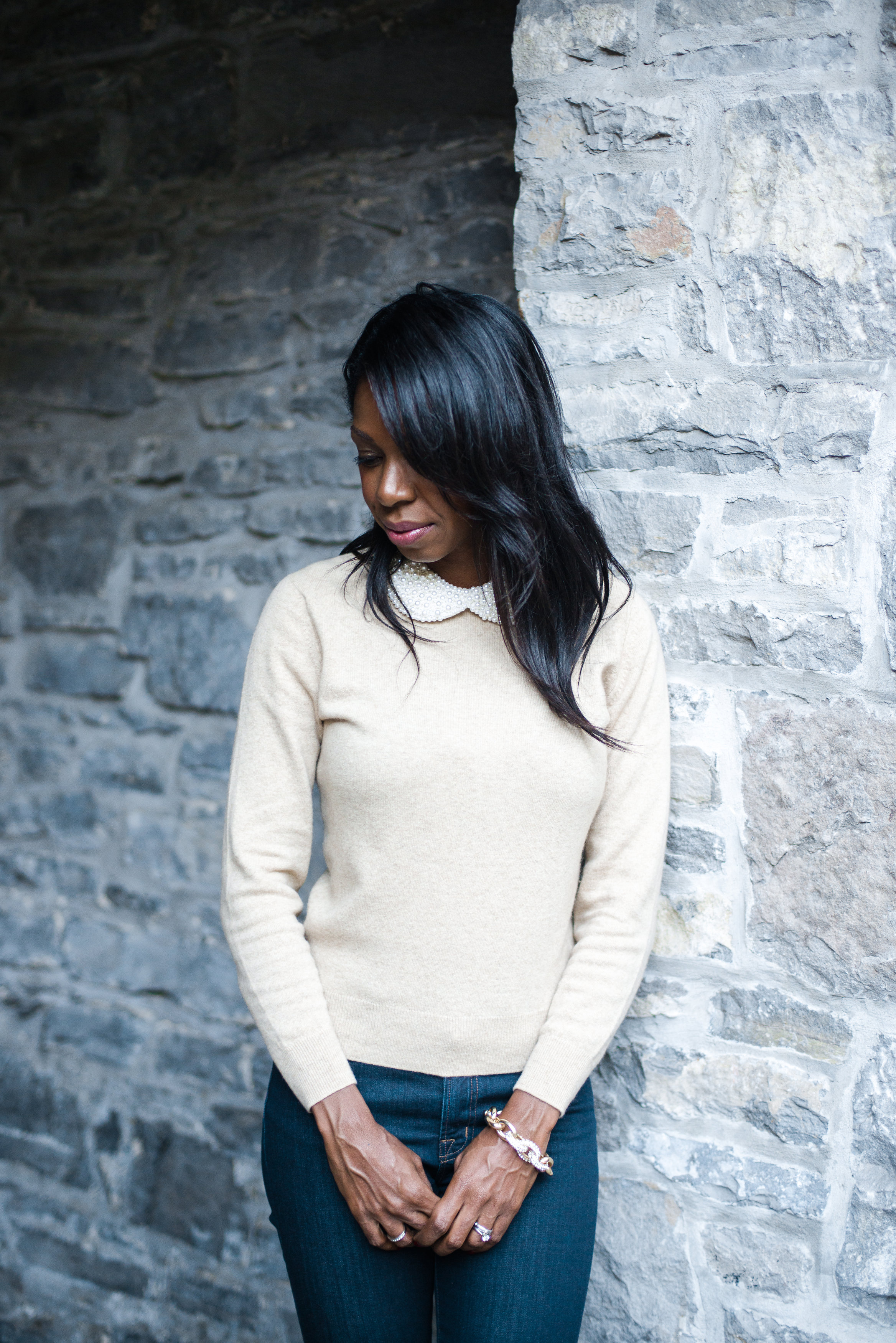 Peter Pan Collar Statement Necklace Style Domination Fashion Blogger