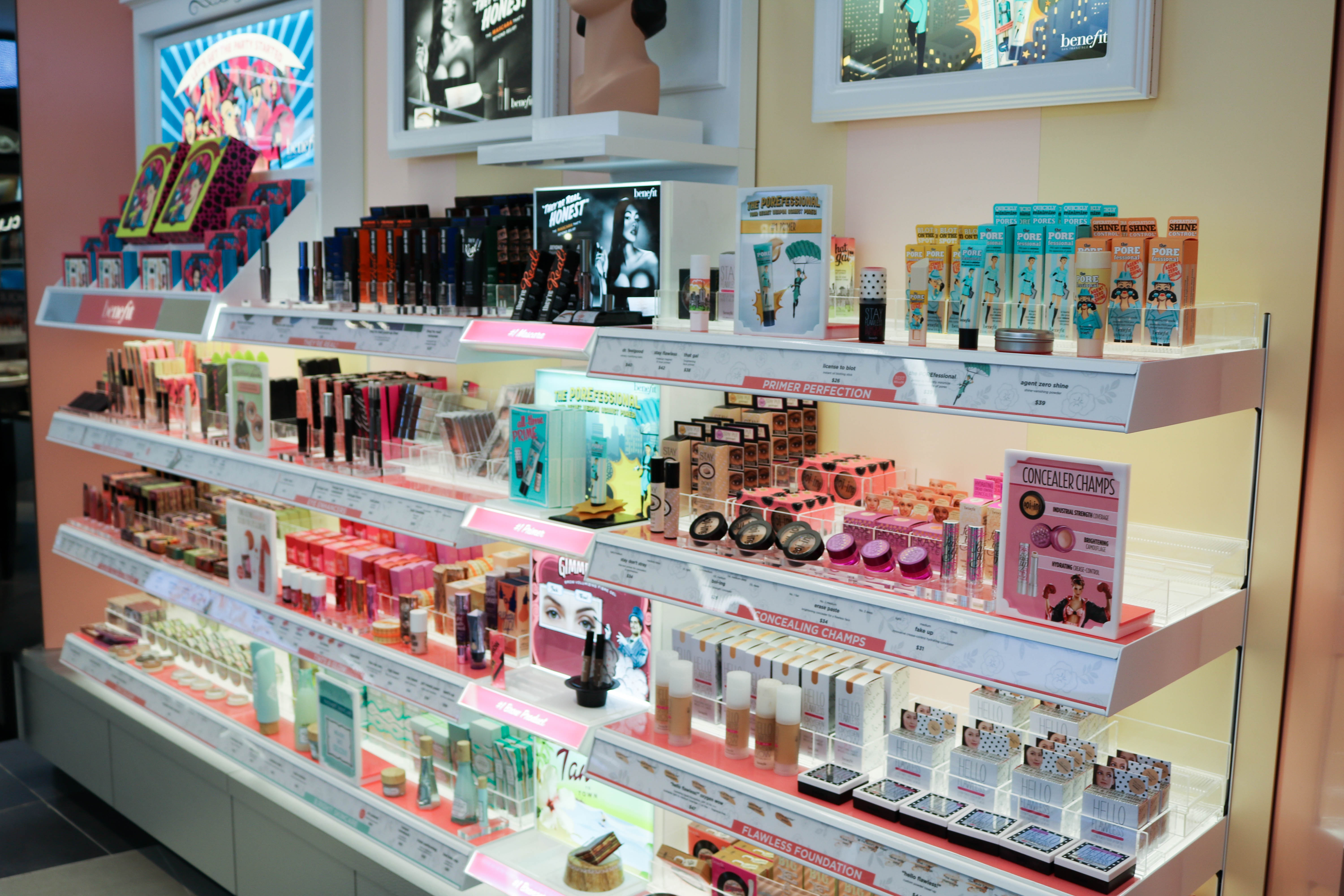 Shoppers Drug Mart beautyBOUTIQUE Benefit Cosmetics Style Domination