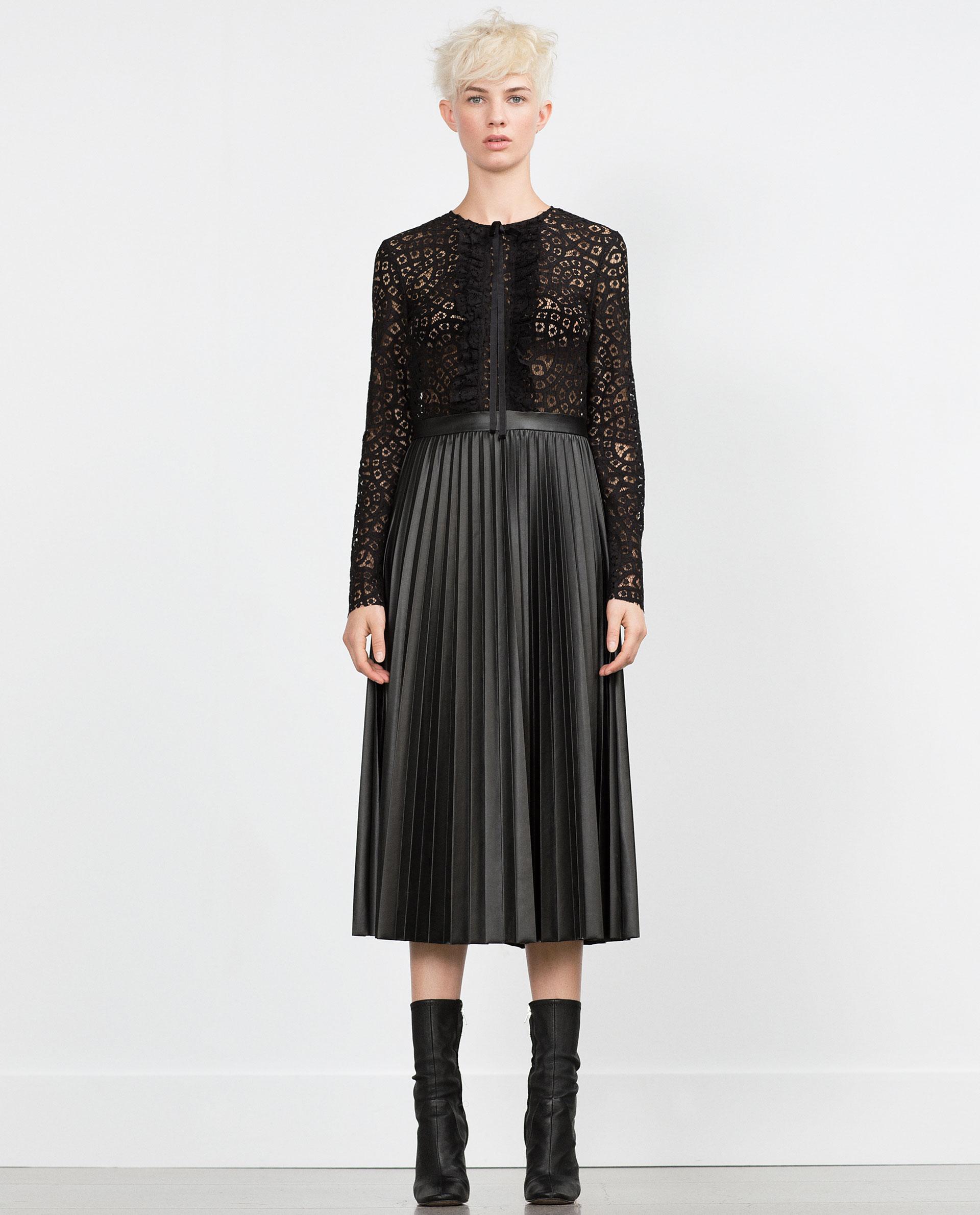 Zara Christmas Holiday Dress Style Domination