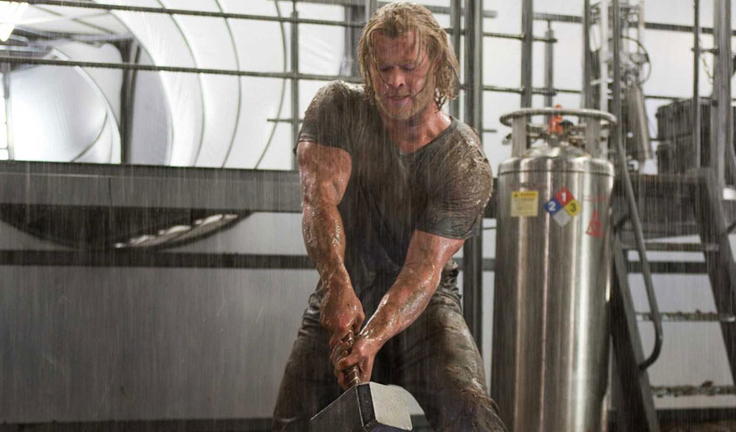 Chris Hemsworth Thor Style Domination