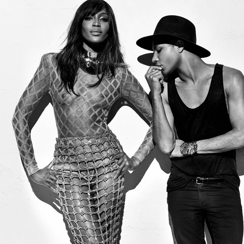 Balmain Killing It With Newest Campaign Featuring 90s Supermodels | www.styledomination.com