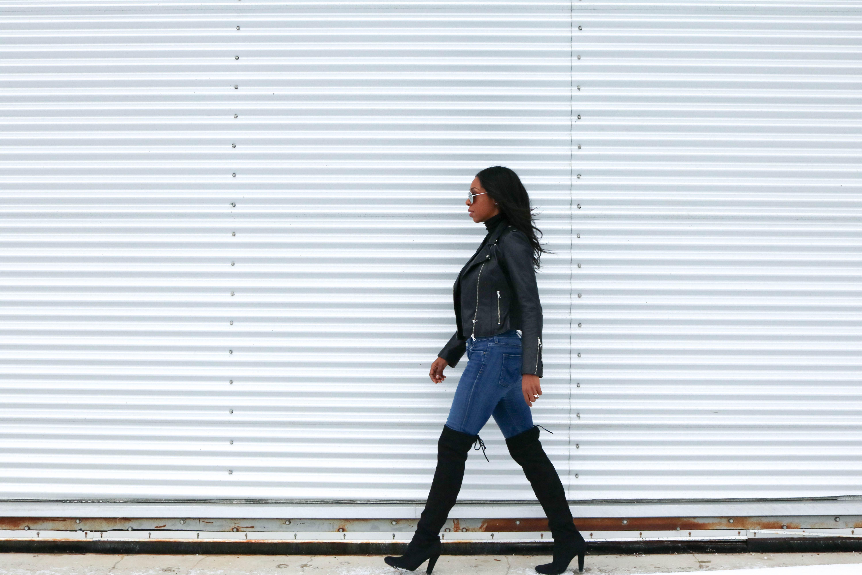 Moto Jacket Street Style | www.styledomination.com