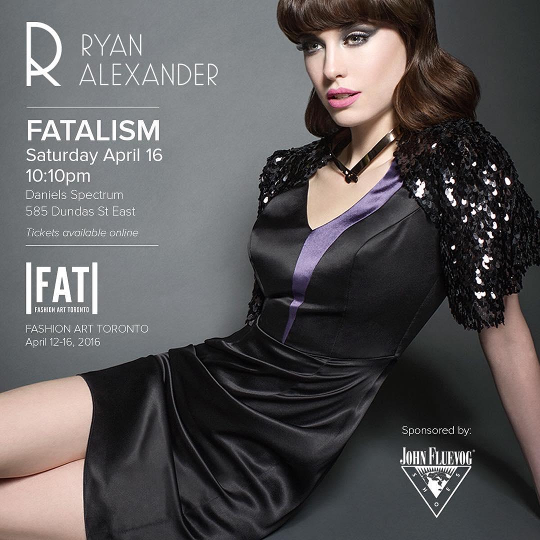 Fashion Art Toronto Feature: Ryan Alexander, Haute Couture Designer | www.styledomination.com