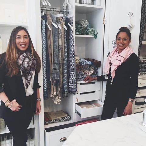 Socially Conscious, Sustainable Luxury: Une écharpe - une vie | www.styledomination.com