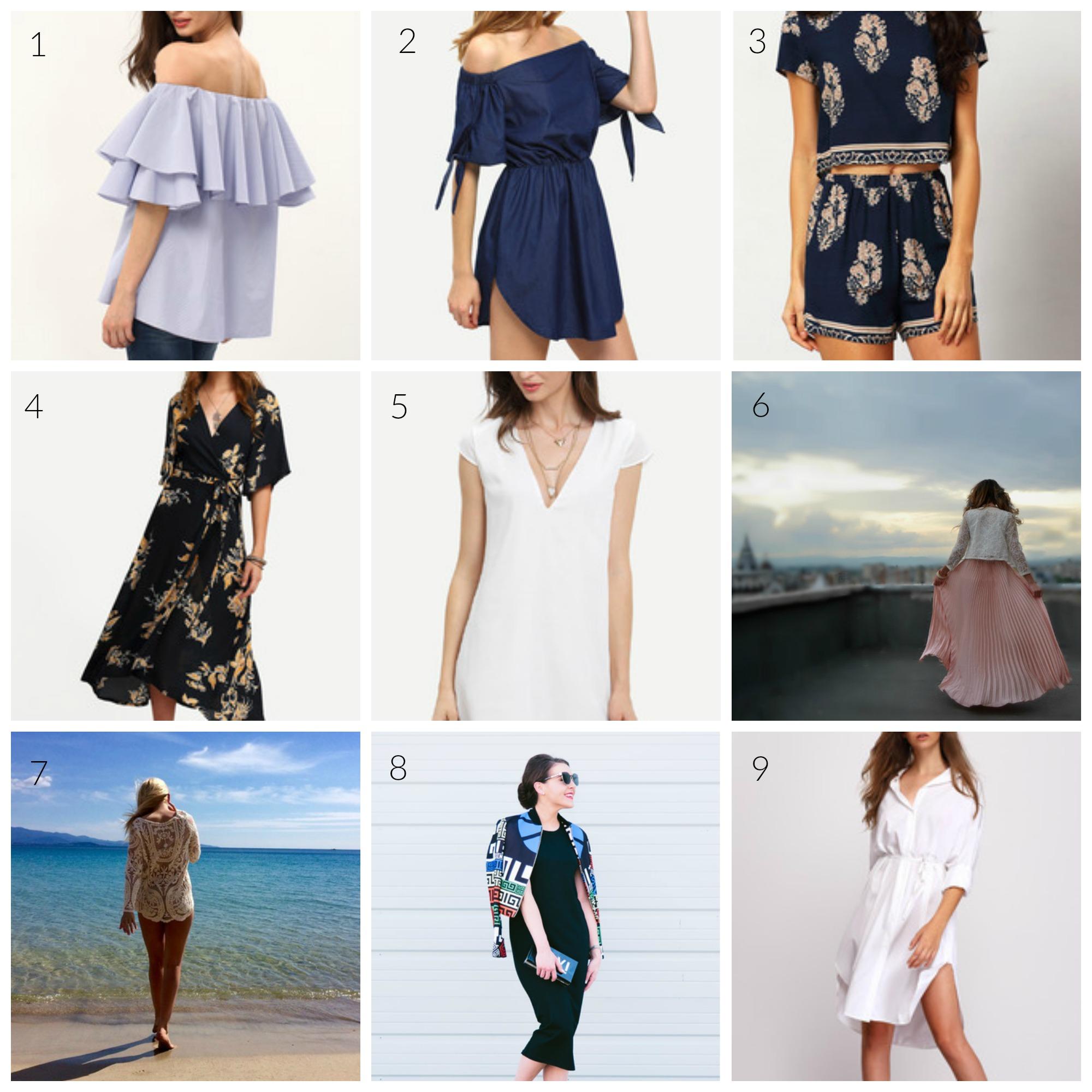 Summer Style Gems - SheIn WishlistSummer Style Gems - SheIn Wishlist | www.styledomination.com