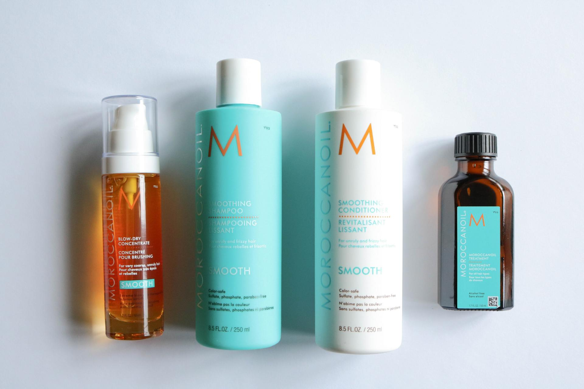 Shiny, Happy Hair: Moroccanoil Blow-Dry Concentrate | www.styledomination.com