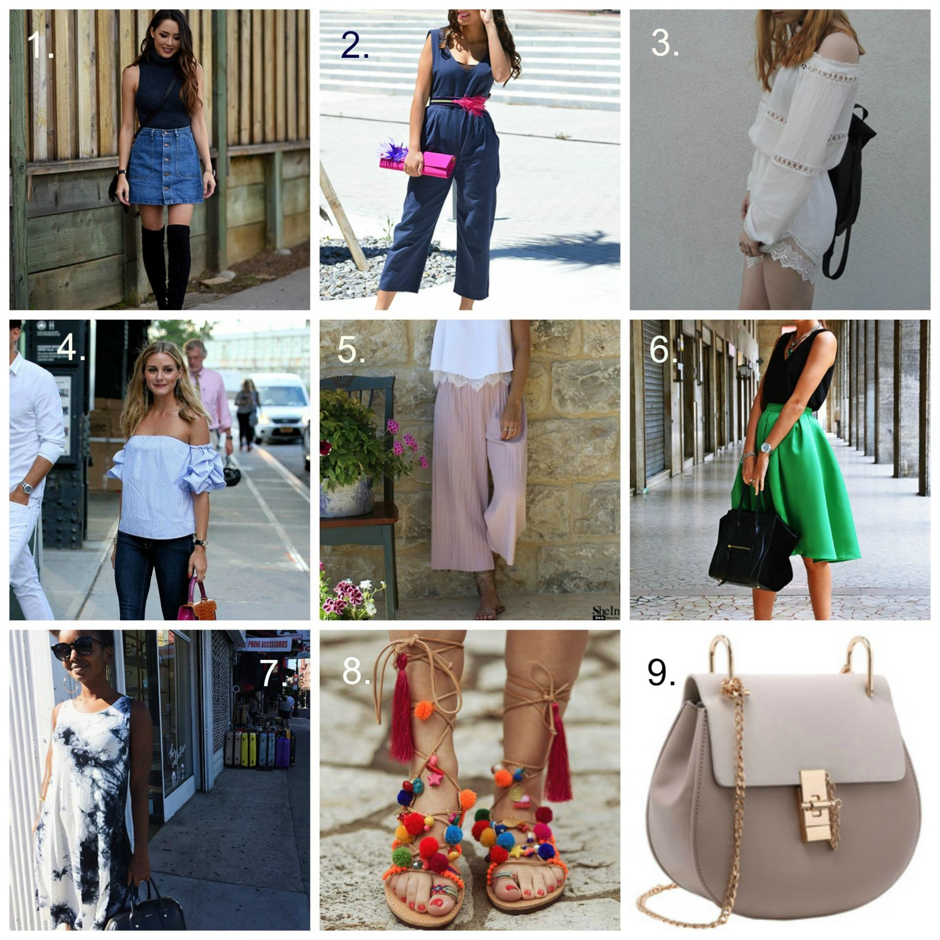 Summer Style Needs and Wants | www.styledomination.com