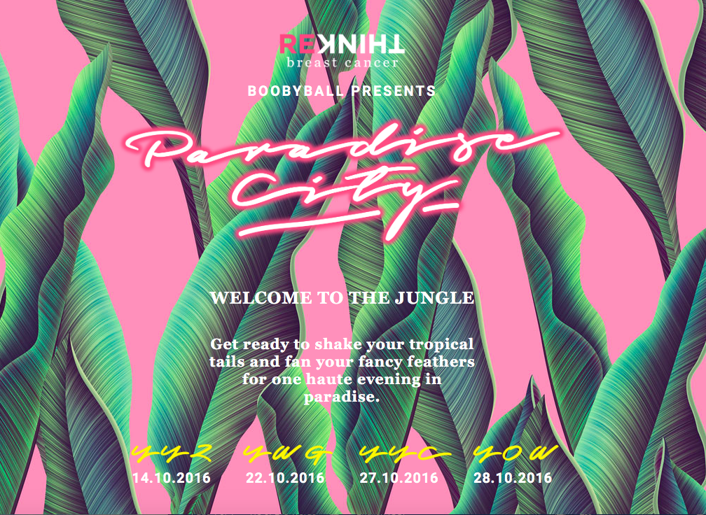 Boobyball Presents Paradise City! October 28, 2016 | www.styledomination.com
