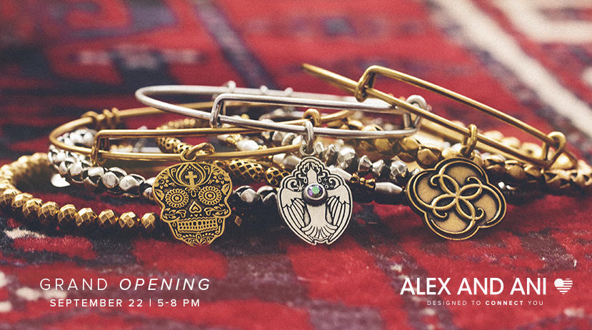 Grand Opening: Alex and Ani at CF Rideau Centre