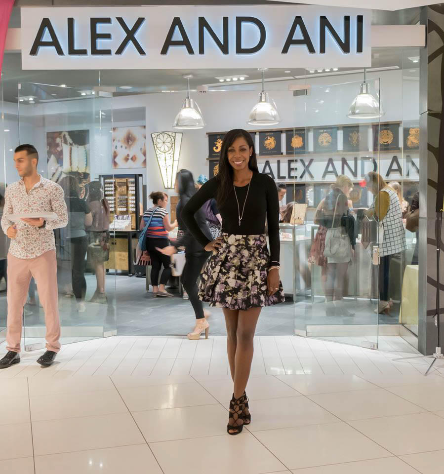 Alex And Ani Sparkles At Rideau Centre