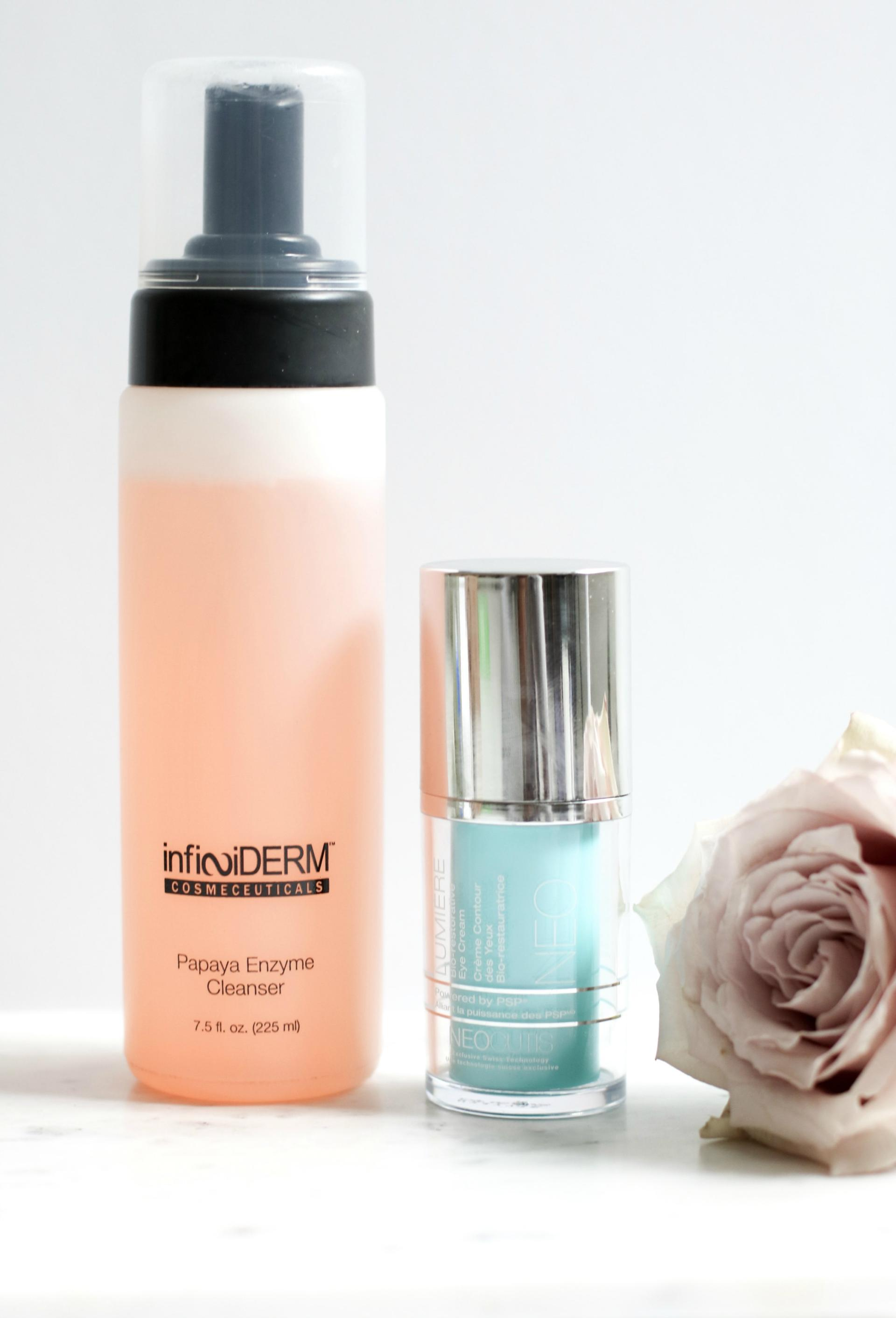 Infiniderm Cleanser and Neo Cutis Lumiere Eye Cream - Concept Medical