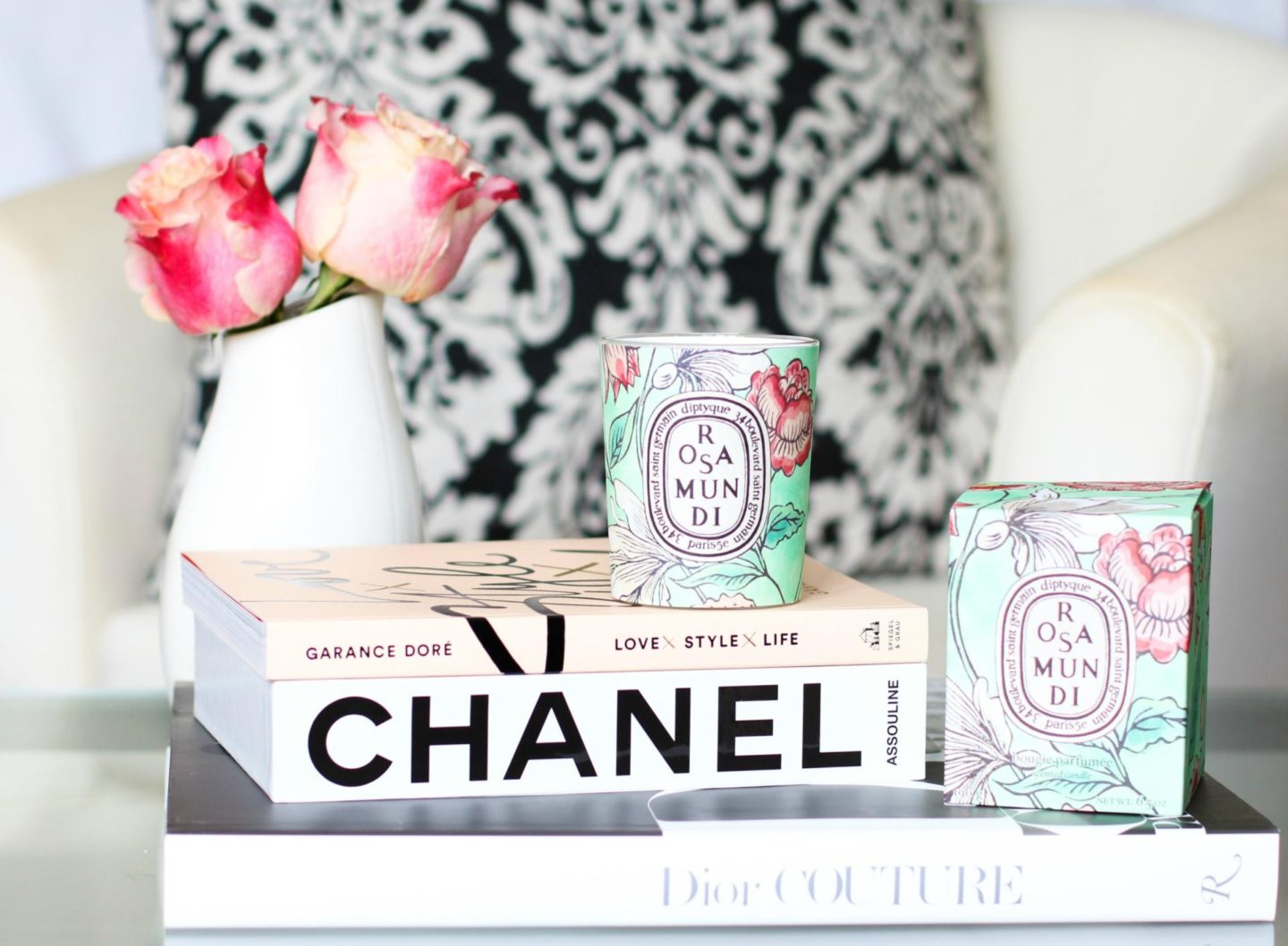 Diptyque Rosa Mundi 2017 Limited Edition Candle
