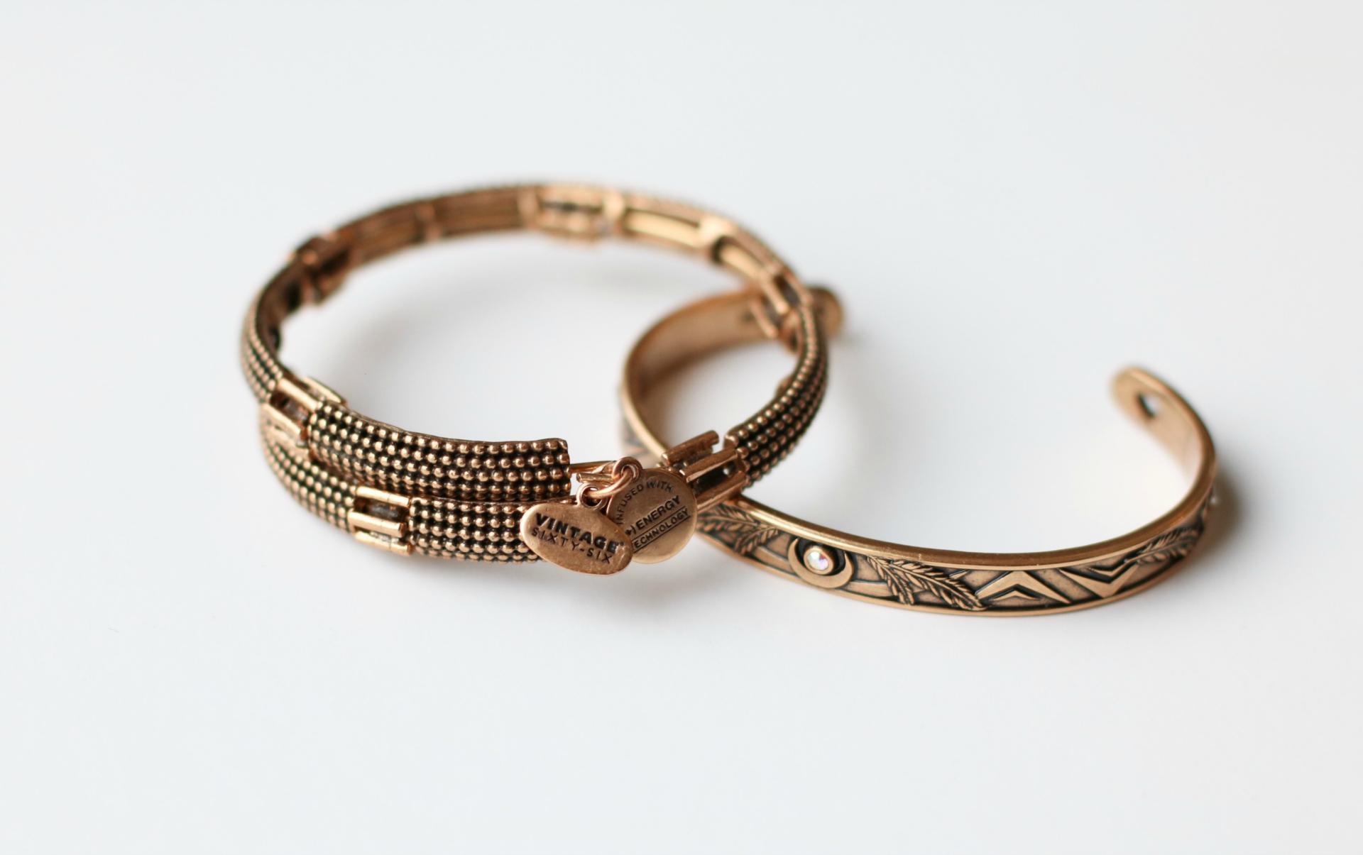 ALEX AND ANI Nova Wrap and Godspeed Bracelets