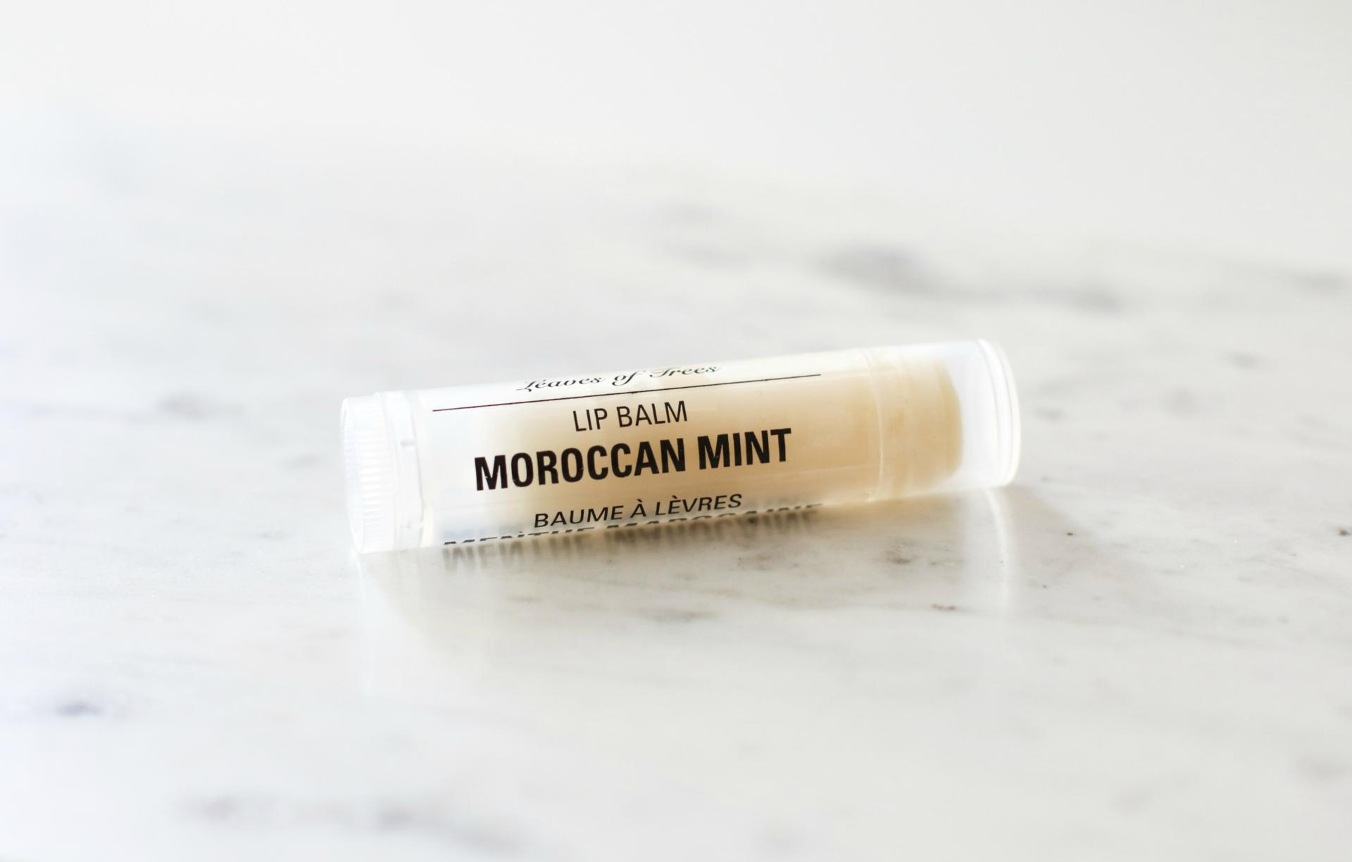 Leaves of Trees Moroccan Mint Lip Balm