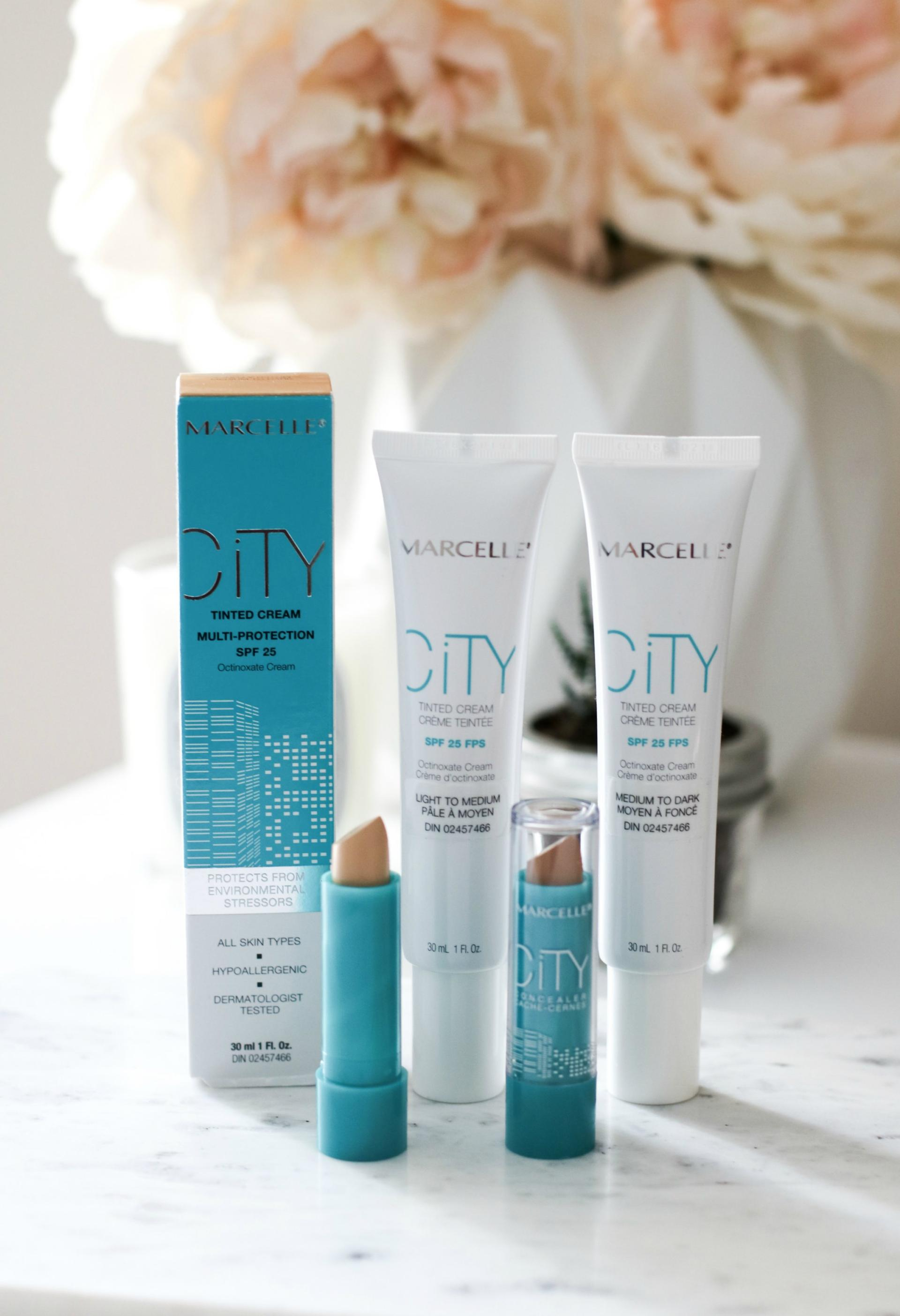 Marcelle City Tinted Moisturizers and Concealers