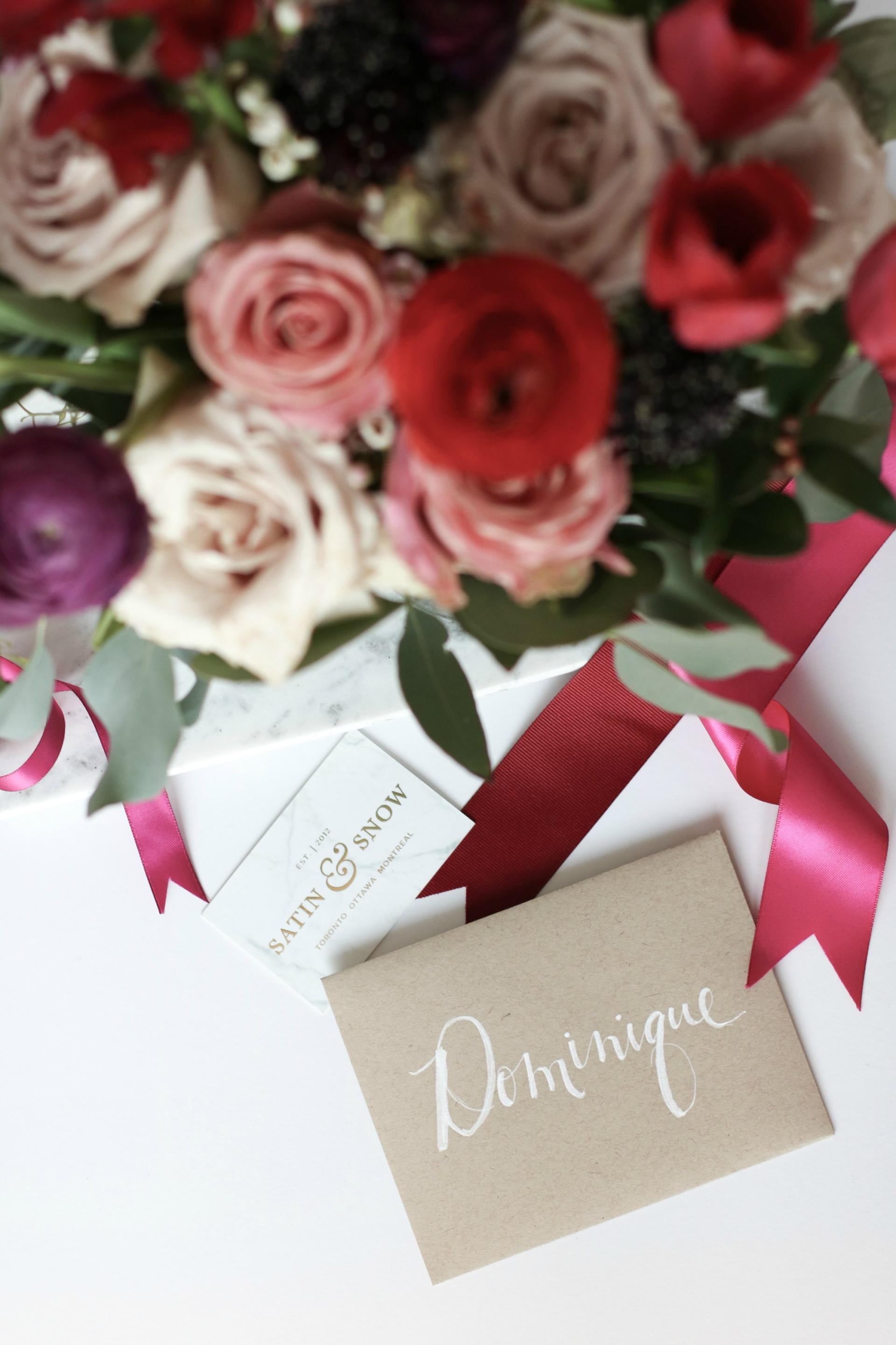 Blooms in a Bag with Card