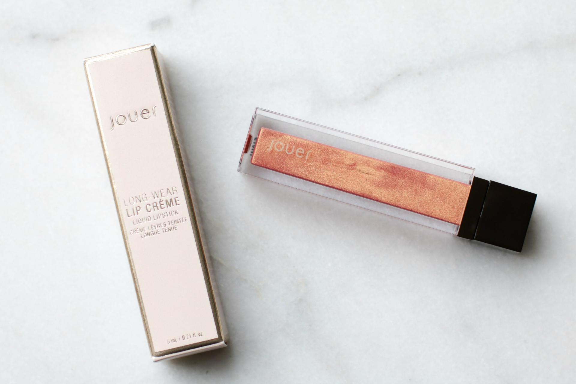 Jouer Papaye Long-Wear Lip Crème Liquid Lipstick