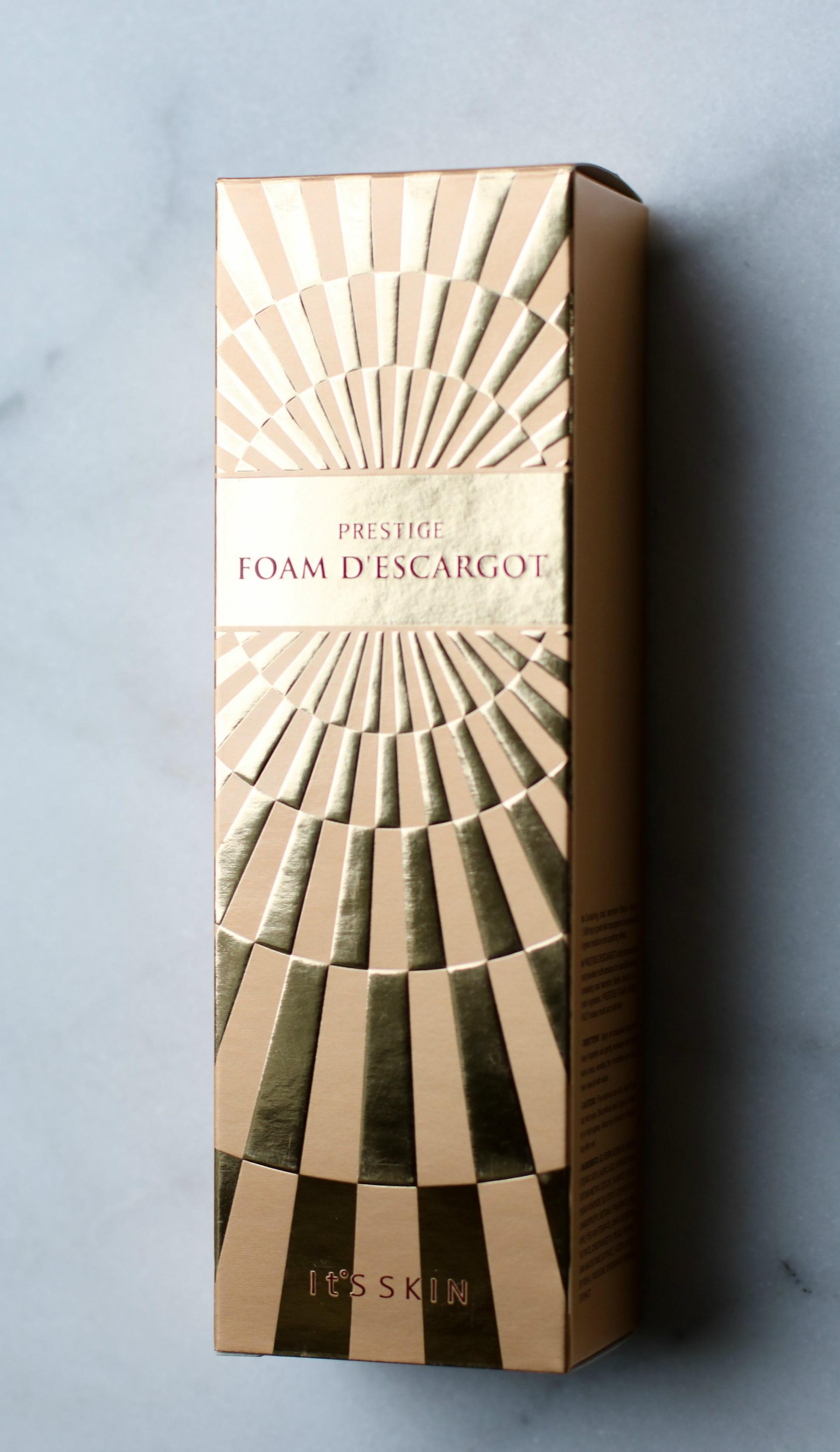 Prestige Foam D'Escargot Facial Cleanser