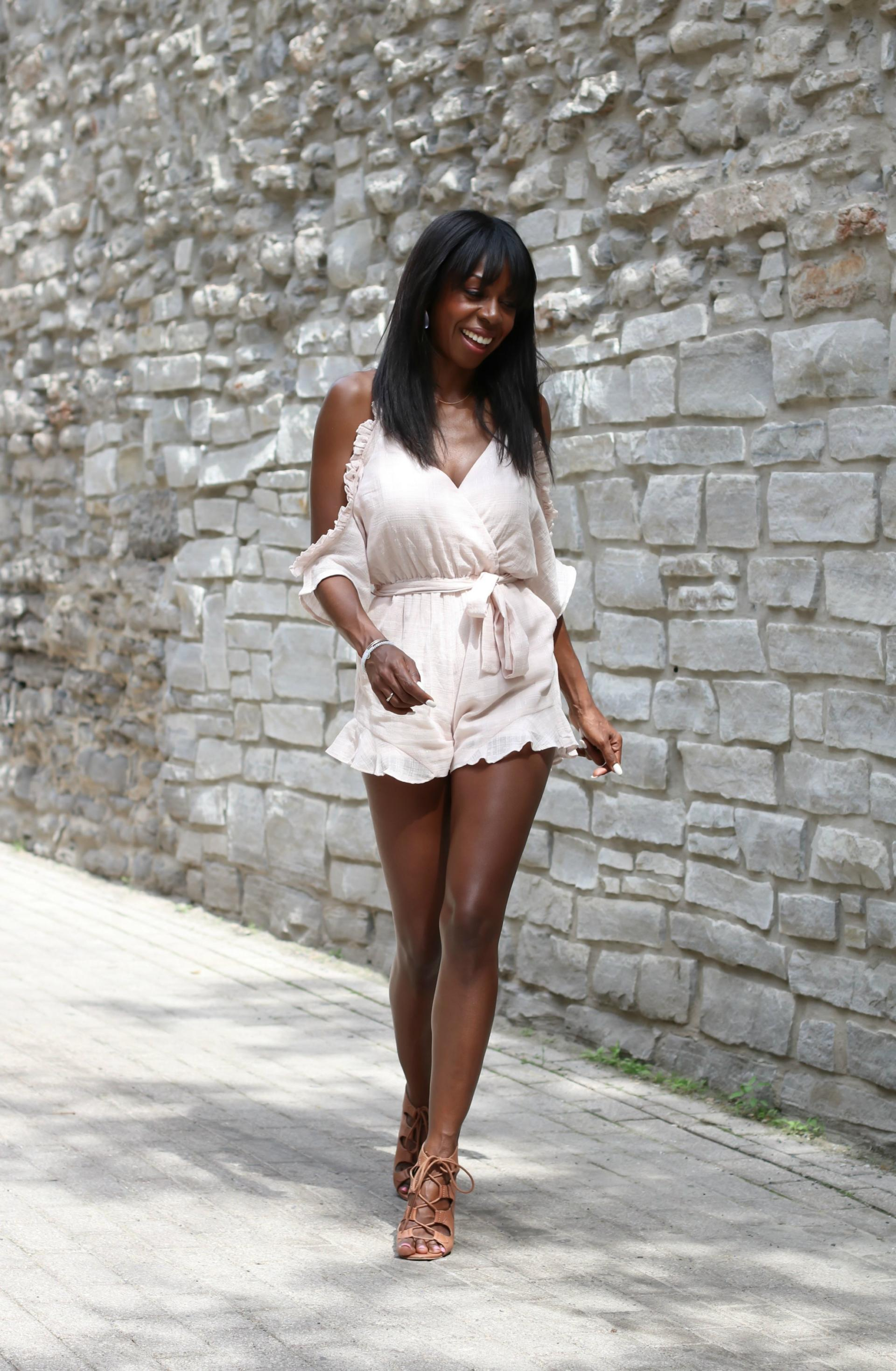 Rosé All Day: The Elevated Romper
