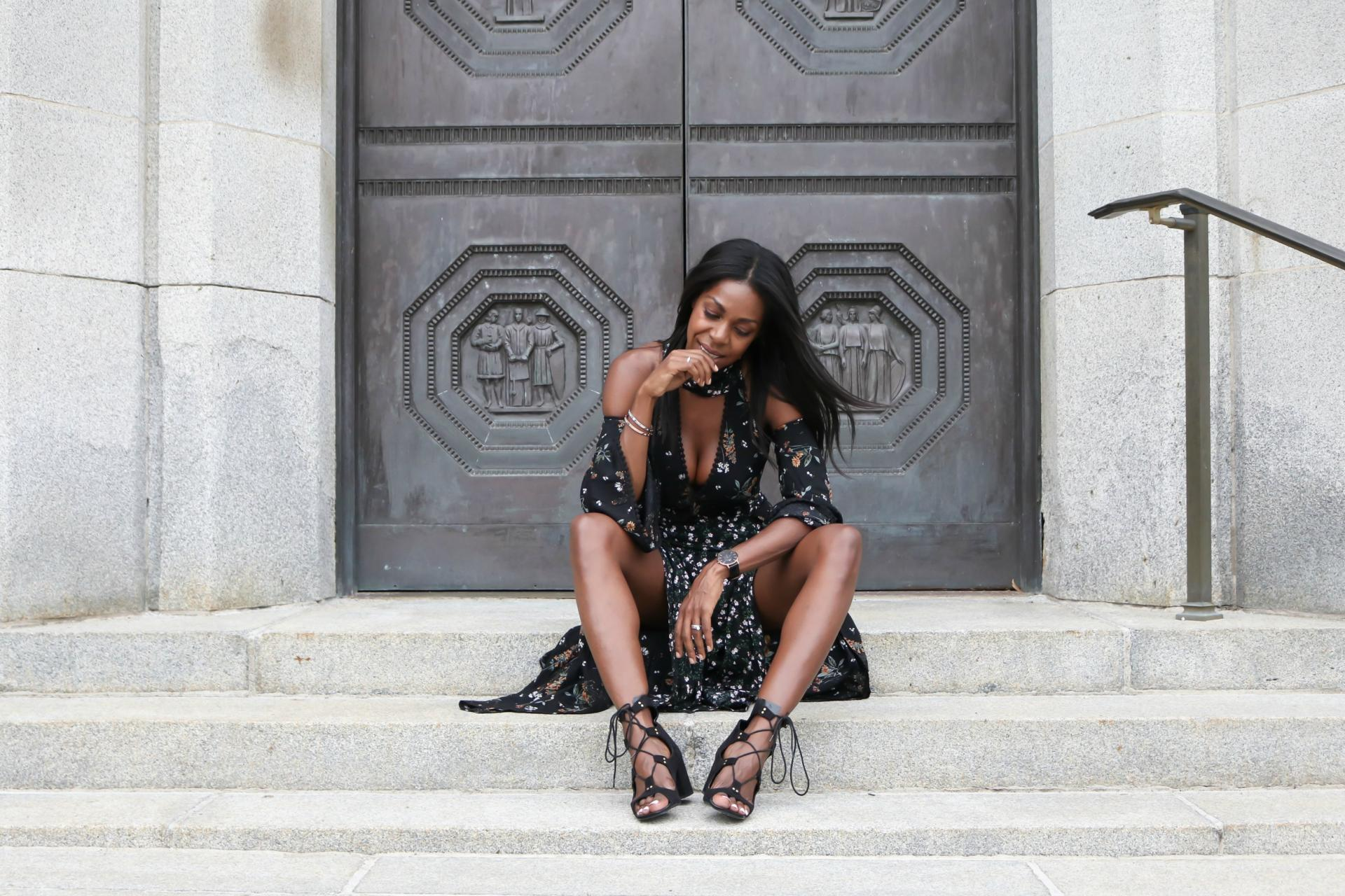 My little love affair with the craziest dress you've ever seen - Fall Transitional Dressing