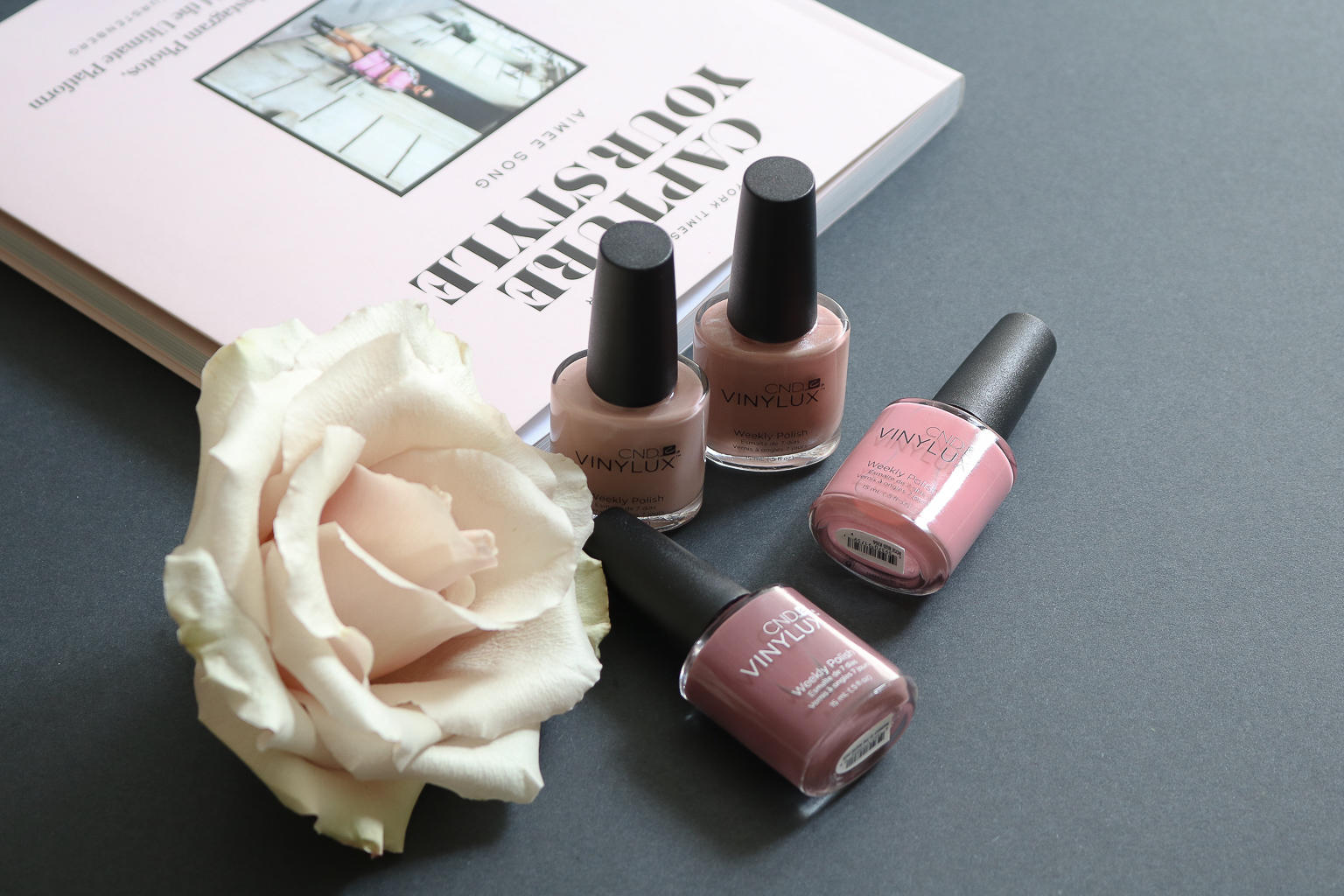 CND Vinylux Weekly Polish is so shiny and long-lasting, it's my new favourite!