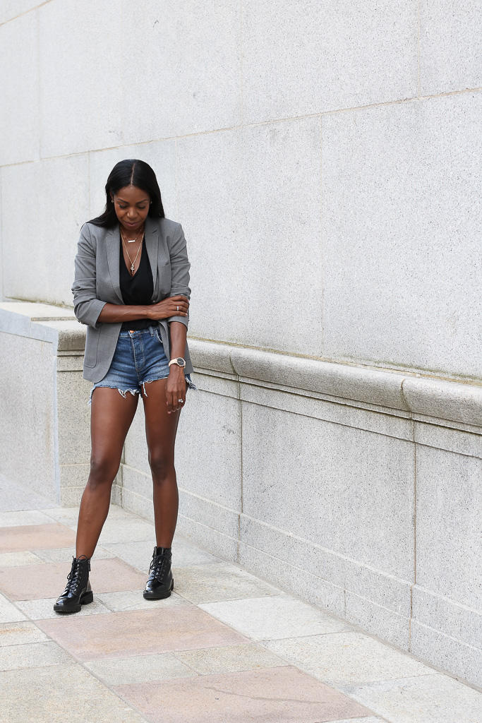 How a little wardrobe malfunction turned into one of my favourite looks this fall - Geox Quinlynn Boots