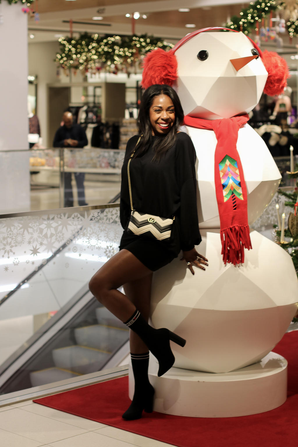 One Christmas Party down, many more to go. Check out my first holiday look courtesy of Tobi