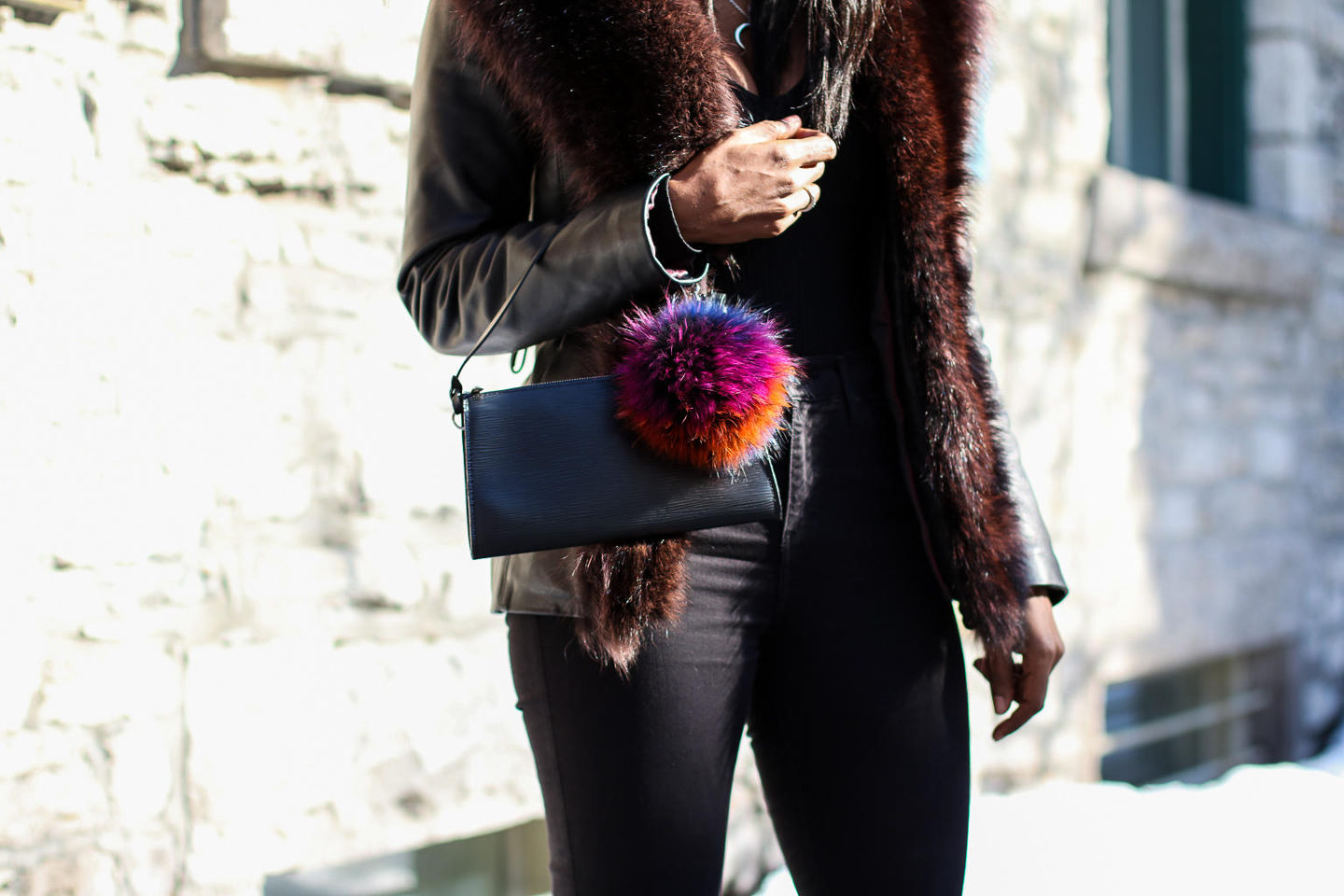 One Furry Little Way To Elevate Your  Pre-Spring Look + GIVEAWAY!
