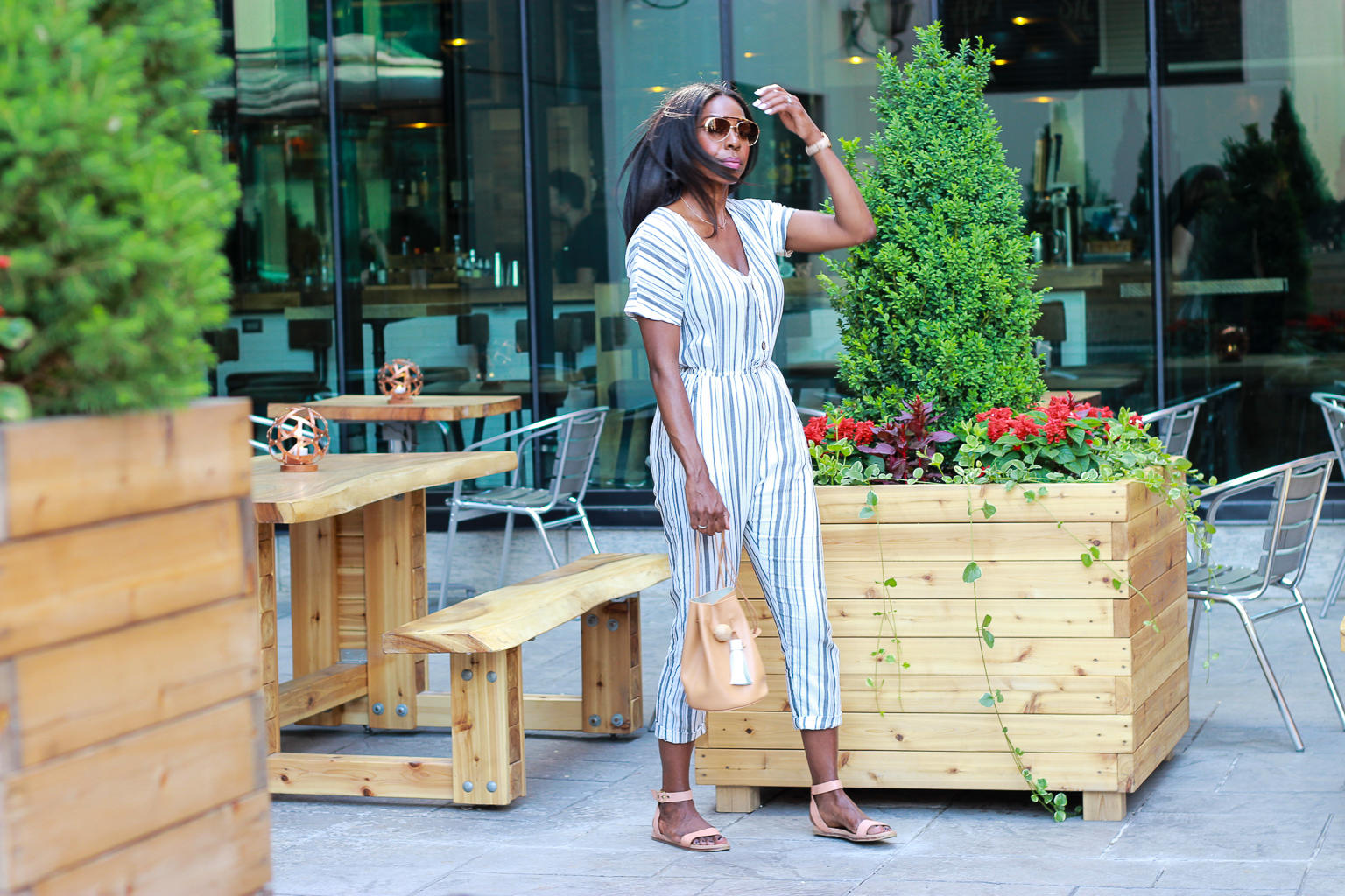 How To Wear A Jumpsuit Like A Pro - Tallow Ottawa | Style Domination by Dominique Baker