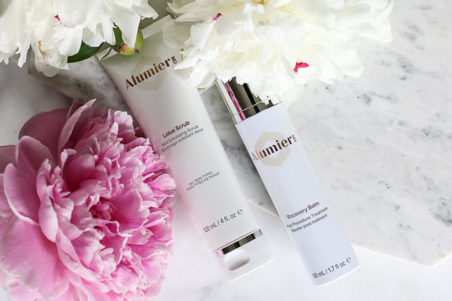 How To Care For Your Skin In Between MediSpa Treatments – AlumierMD Recovery Balm and Lotus Scrub