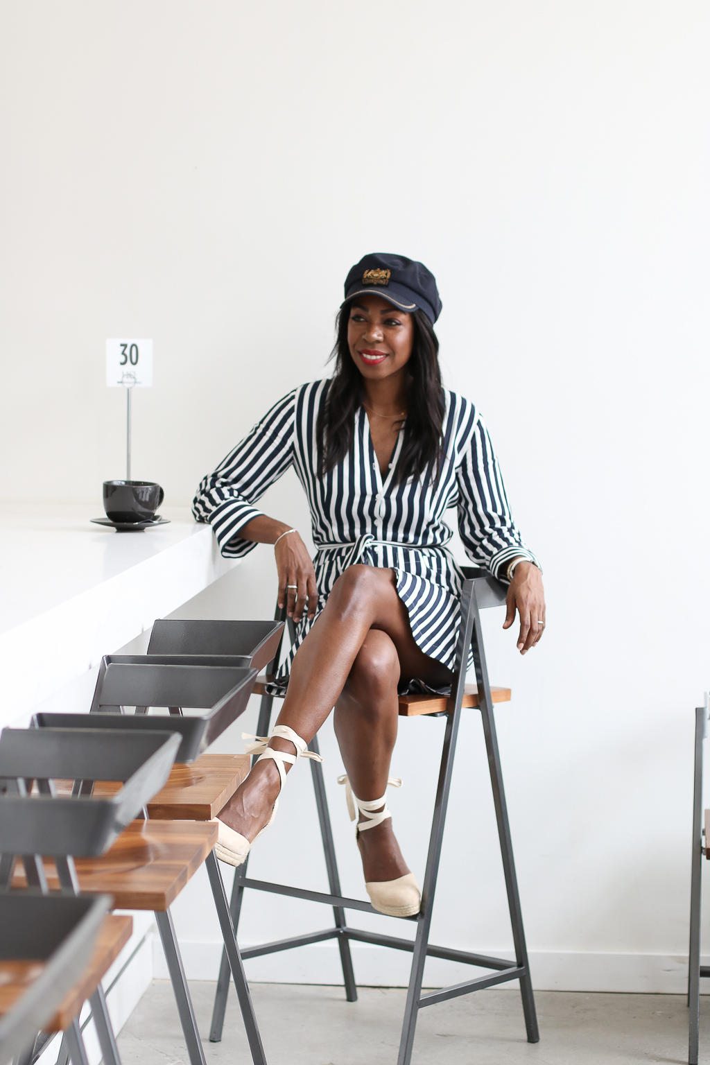 Sundays, Lattes and Nautical Stripes - RW&Co. | Style Domination by Dominique Baker