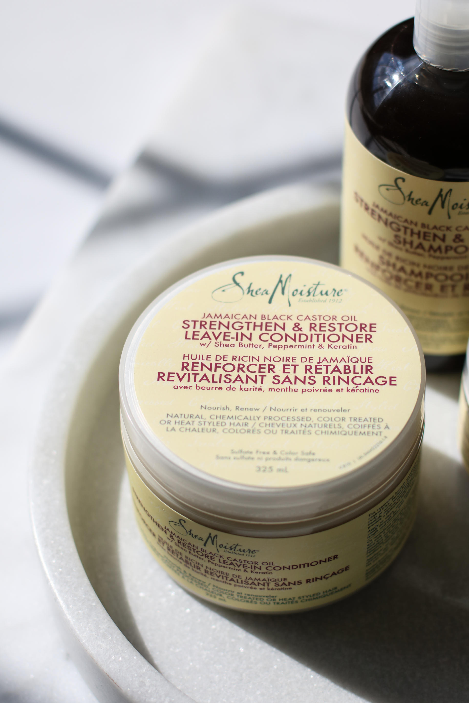 How To Save Your Damaged Hair: Shea Moisture Jamaican Black Castor Oil Strengthen & Restore | Style Domination by Dominique Baker